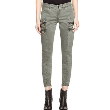 Blank NYC Cargo Skinny Pants in Olive, size 24