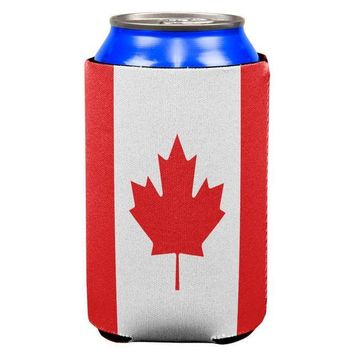 PEAPGQ9 Canadian Canada Flag All Over Can Cooler
