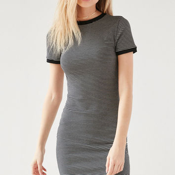 BDG Striped Bodycon T-Shirt Dress   Urban Outfitters