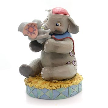 Jim Shore A MOTHER'S UNCONDITIONAL LOVE Polyresin Dumbo Mother's Day 6000973