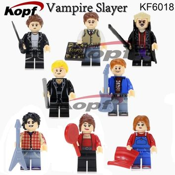 Super Heroes Angel Spike Willow Corderlia Buffy the Vampire Slayer Series Building Blocks Collection Toys for children KF6018