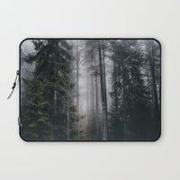 Into the forest we go Laptop Sleeve by happymelvin