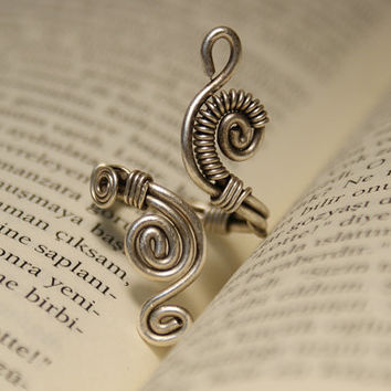 wire wrapped jewelry handmade ring - wire ring - jewelery wire wrapped