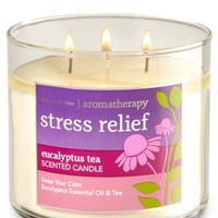 3-Wick Candle Stress Relief - Eucalyptus Tea