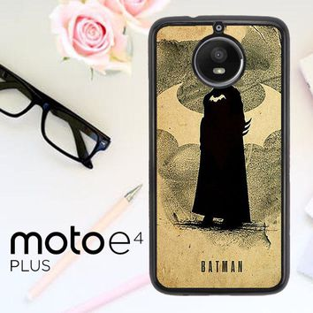 Batman Poster V1055 Motorola Moto E4 Plus Case
