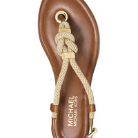 MICHAEL Michael Kors Holly Flat Thong Sandals - All Women's Shoes - Shoes - Macy's