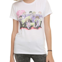 Ouran High School Host Club Group Girls T-Shirt