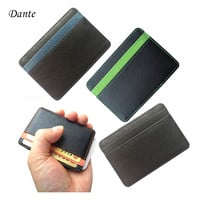 New arrival High quality leather men wallets  magic wallets Fashion men credit card holder card purse hot sale promotion FGS01