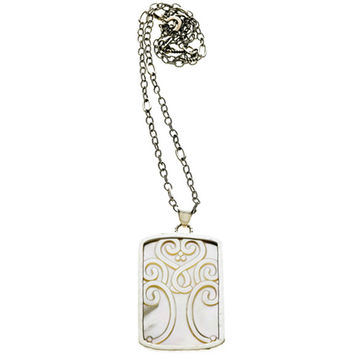 Love Letters Tree Of Life Sterling Silver Mother Of Pearl Necklace