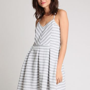 Elsinore Striped Dress