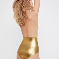 Free People Shine High Waist Undie