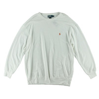 Polo Ralph Lauren Mens Big & Tall French Terry Monogram Crew Sweatshirt