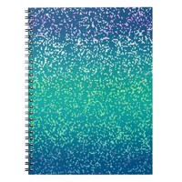 Notebook Glitter Graphic Background