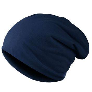 Unisex Knitted Winter Cap Casual Beanies Solid Color Hip-hop Snap Slouch Skullies Bonnet beanie Hat