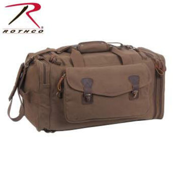 Canvas Extended Stay Travel Duffle Bag