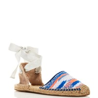 Soludos Espadrille Sandals - Malhia Kent Static Lace Up | Bloomingdales's