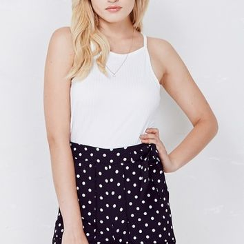 Black Dottie Shorts