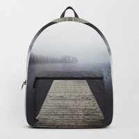 Fading into the mist Backpack by happymelvin