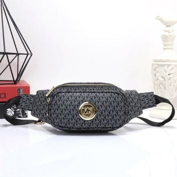 Mk Women Shopping Leather Purse Waist Bag Single Shoulder Bag Crossbody