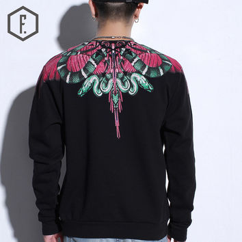 Men's Fashion Winter Feather Pullover Casual Hoodies [8822200451]