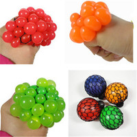 Cute Anti Stress Face Reliever Grape Ball Autism Mood Squeeze Relief Healthy Toy