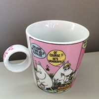 Moomin Story Mug Comic Story by Tove Jansson Japan Finland Moomintroll AF comic