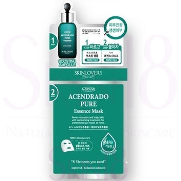 SKINLOVERS 2 Steps Acendrado Pure Essence Mask  (exp.date 11/19)
