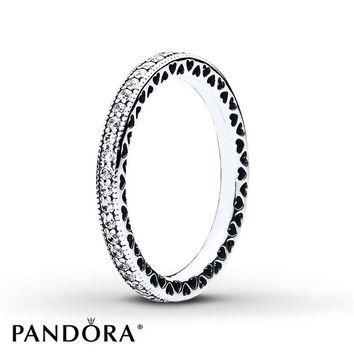 PANDORA Ring Hearts of PANDORA Sterling Silver