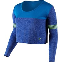 Nike Women's Dri-FIT Knit Epic Crew Long Sleeve Shirt | DICK'S Sporting Goods