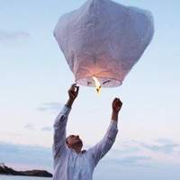 Eco-Friendly Sky Lantern - Sky Lanterns - Wedding - Adult Occasions