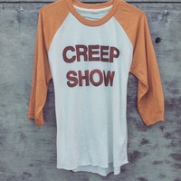 Creep Show Baseball Tee