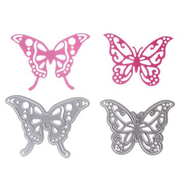 Kids Cutting Dies Stencil Beautiful Butterfly Draw Toy