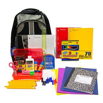 """Discounted 17"""" Pre-Filled Backpack Kit"""