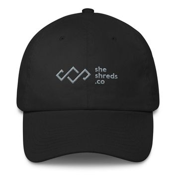 SheShreds Logo Dad Hat (Click for More Color Options)