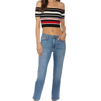 Gab & Kate Poppy Off The Shoulder Top