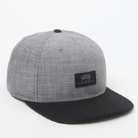Vans Edgewood Snapback Hat - Mens Backpack - Frost Grey - One