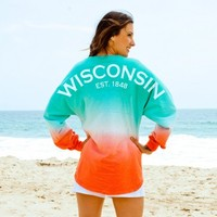 Wisconsin EST. 1848 Spirit Football Jersey®