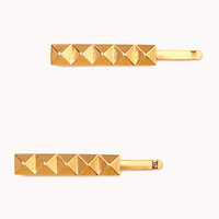 Pyramid Stud Hair Pin Set