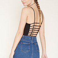 Caged-Back Cropped Cami