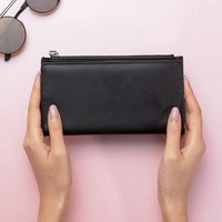 Monki Leather Look Wallet at asos.com
