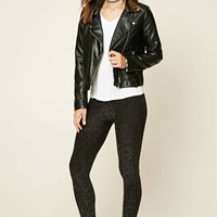 Contemporary Metallic Leggings