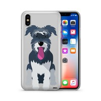 Schnauzer - Clear TPU Case Cover