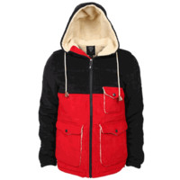 Monkey Sport by Pepper Foster - Into the Wild Adult Jacket (Navy/Red)