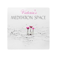 Meditation Space Pink Lotus Name Metal Print