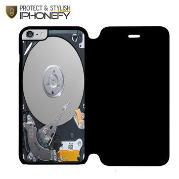 Hard Drive without Casing iPhone 6 Plus Flip Case|iPhonefy