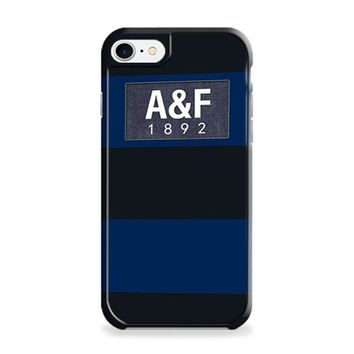 Dark Blue Abercrombie And Fitch iPhone 7 | iPhone 7 Plus Case