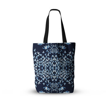 "Marianna Tankelevich ""Night Birds"" Blue Abstract Everything Tote Bag"