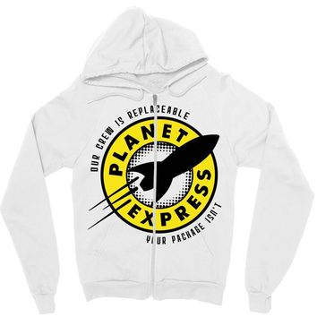 planet express Zipper Hoodie