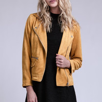 Sunny Suede MotorCycle Jacket