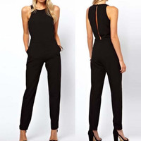 Summer Elegant Womens Rompers Jumpsuit